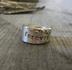 Spoon Ring - PROPOSAL - FOREVER - #4280