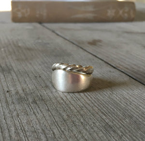 CUSTOM ORDER - Spoon Ring - WINDSOR TWIST
