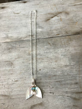 Spoon bowl necklace on silverplate chain