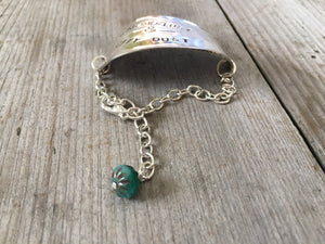 Stamped Spoon Bracelet - WANDERLUST & CITY DUST - #4113