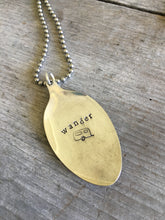 Silverware Jewelry Hand Stamped Wander with Airstream Trailer