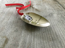 Spoon Ornament with Frame - FIRST CHRISTMAS - #3130