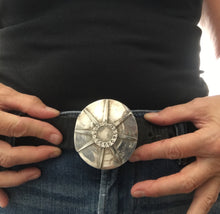 Spoon Belt Buckle Starburst