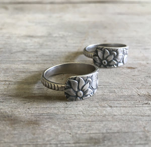 Sterling Spoon Ring Gorham Dehli