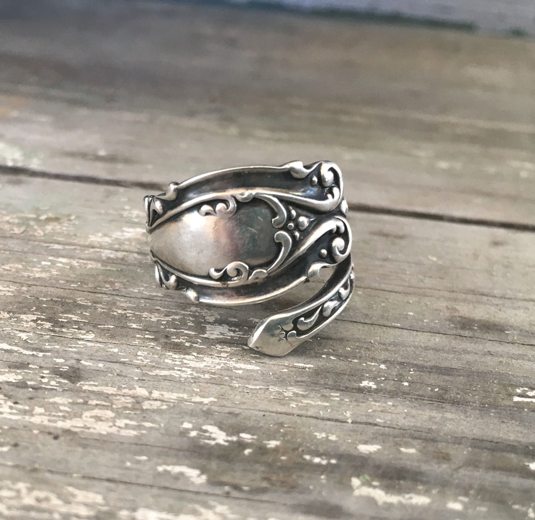 Sterling Silver Coil Wrap Ring