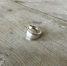 Spoon Ring from antique sterling spoon