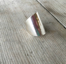 Sterling Whole Spoon Cuff Ring
