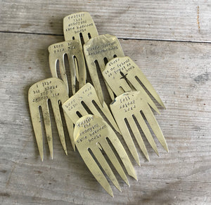Fork Bookmark - THERE IS NO FRIEND AS LOYAL AS A BOOK