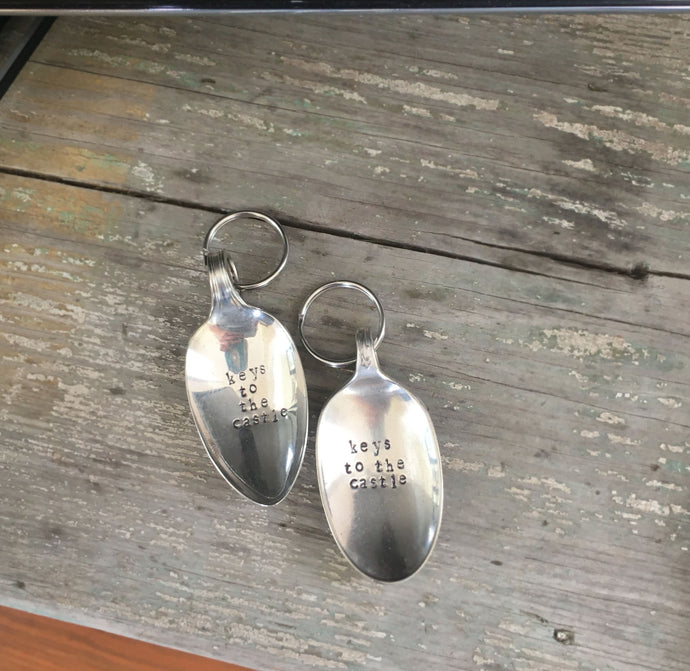 Spoon Keychain - KEYS TO THE CASTLE