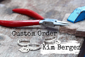 Custom Order - Kim Bergez - Spoon Cheese Cutters