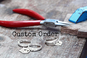 CUSTOM ORDER - Cathy Carruth White