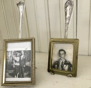 Fork Easel Fork Stand Holding up Vintage Photos