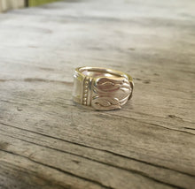 Spoon Ring Danish Princess Size 7