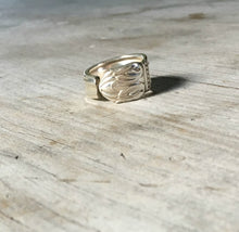 Classic Spoon Ring Upcycled from Danish Princess Spoon