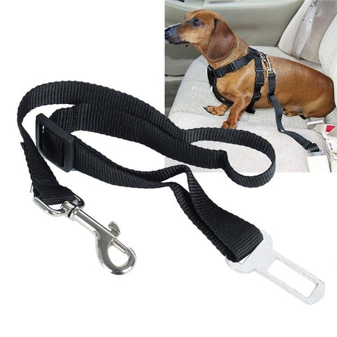 FUSION PET SUPPLIES® NYLON ADJUSTABLE DOG CAR SAFETY BELT
