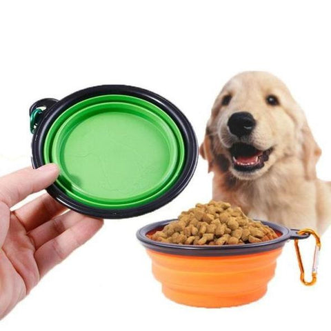 FUSION PET SUPPLIES COLLAPSIBLE TRAVEL DOG BOWL