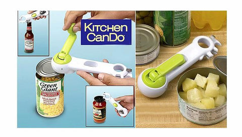KITCHEN CAN-DO 6-IN-1 ROTARY CAN OPENER