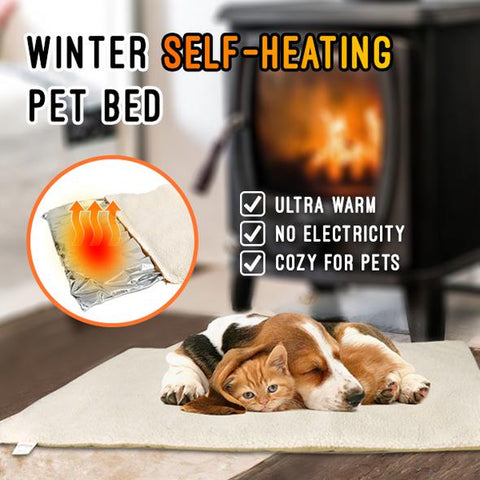 FUSION PET SUPPLIES SELF-HEATING PET BED