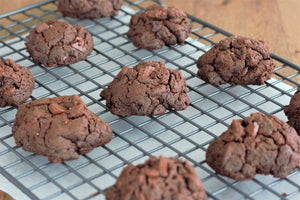 Flourless Chocolate Cookies With Almond Butter