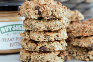 Healthy Breakfast Cookies With A Peanut Butter Kick