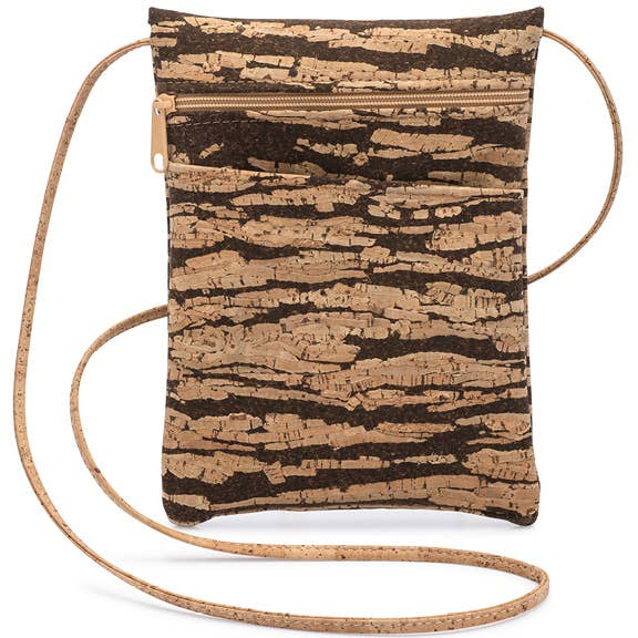 Be Lively Mini Cross Body Bag | Bark Cork (Bark Cork), From Natalie Therese