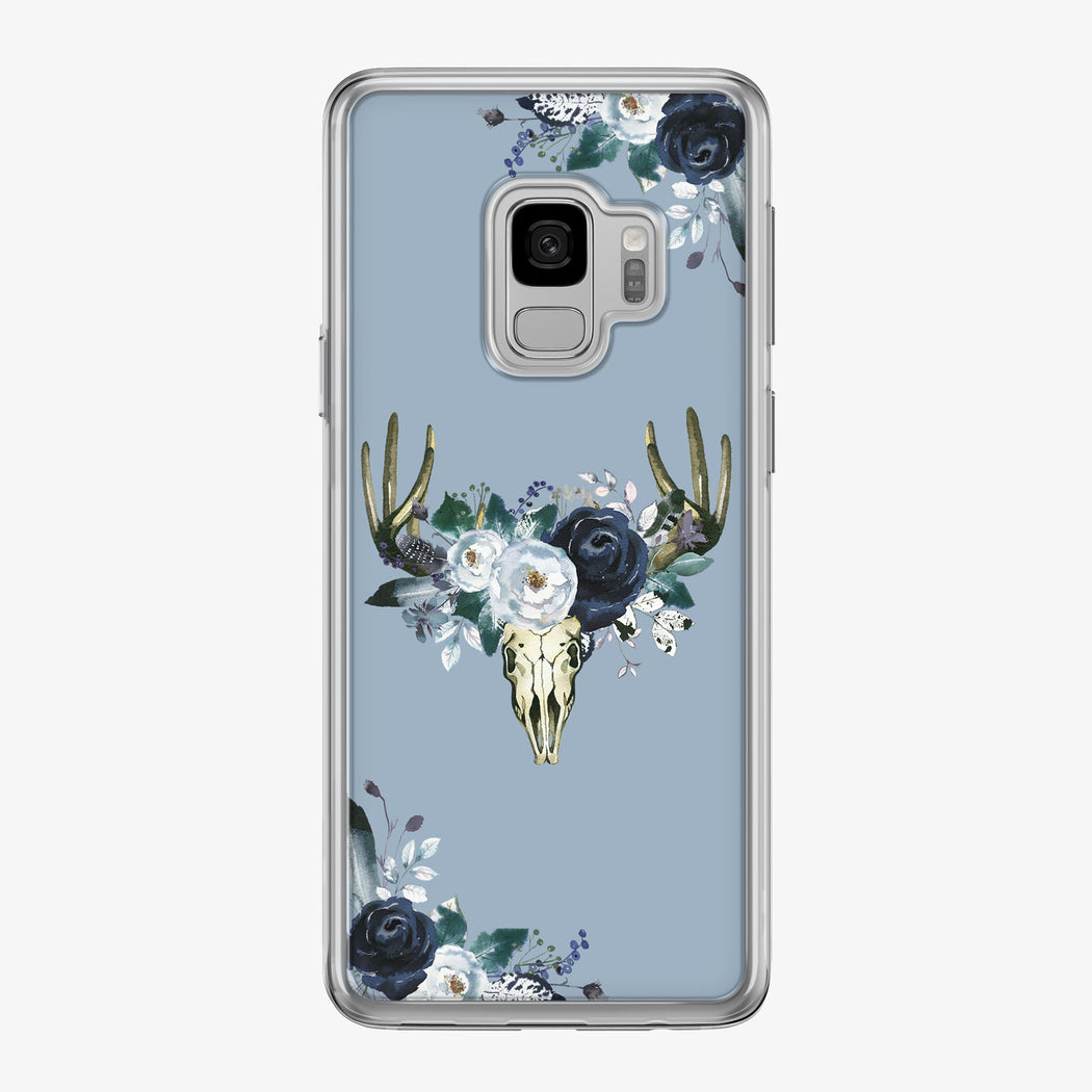 Boho Steer Skull Samsung Galaxy Phone Case from Tiny Quail