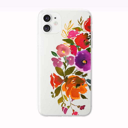 Bold and Beautiful Bouquet iPhone Case from Tiny Quail