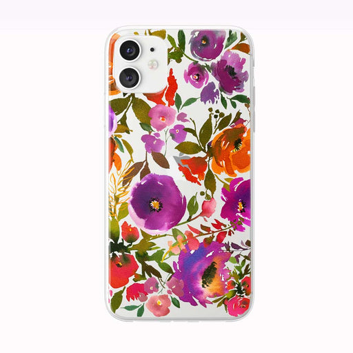 Bold Beautiful Bouquet Pattern iPhone Case from Tiny Quail