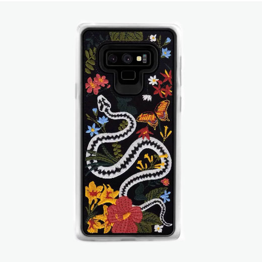 Envoke Floral Snake Samsung Galaxy Note 9 Case From Zero Gravity