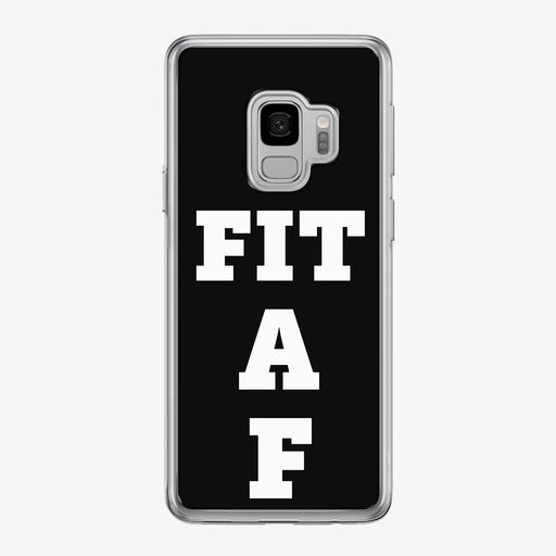 Fit A F Samsung Galaxy Fitness Phone Case by Tiny Quail