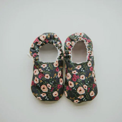 Fable Floral Organic Baby Shoes Moccs From Weepereas
