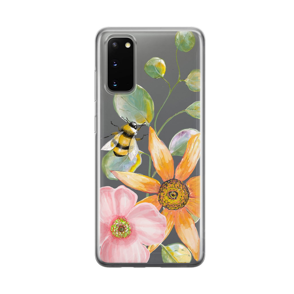 A Bee's Life Samsung Galaxy Phone Case From Tiny Quail