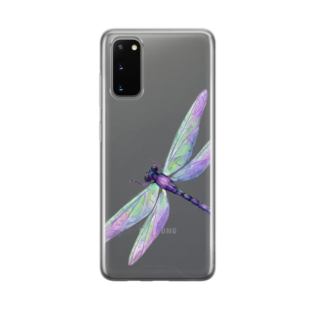 Beautiful Dragonfly Samsung Galaxy Phone Case from Tiny Quail