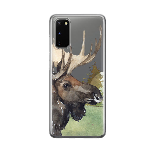 Majestic Moose Samsung Galaxy Phone Case from Tiny Quail