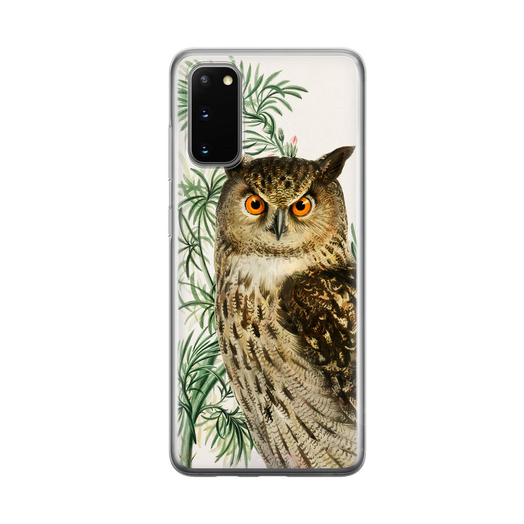 Wise Owl Samsung Galaxy Phone Case from Tiny Quail