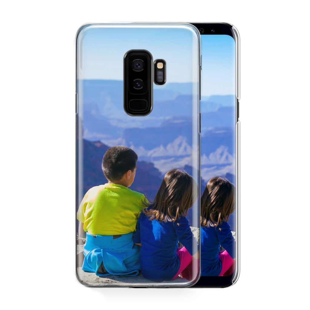 Boy and Girl on Mountain Galaxy S9+ Custom Phone Case From Tiny Quail