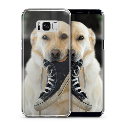 Dog With Shoe Galaxy S8 Custom Phone Case From Tiny Quail