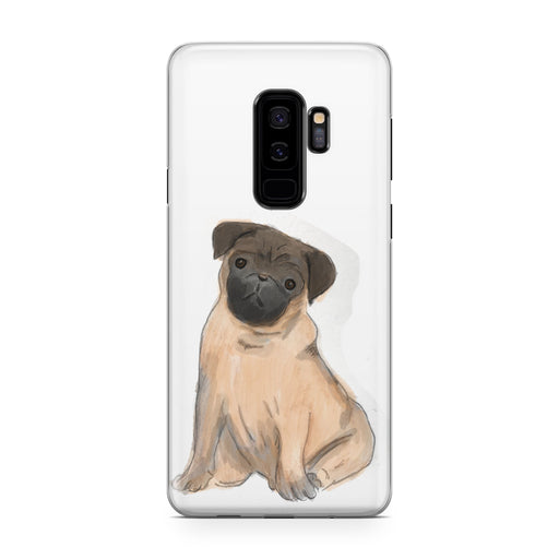 Pug Dog Designer Samsung Galaxy Case From Tiny Quail