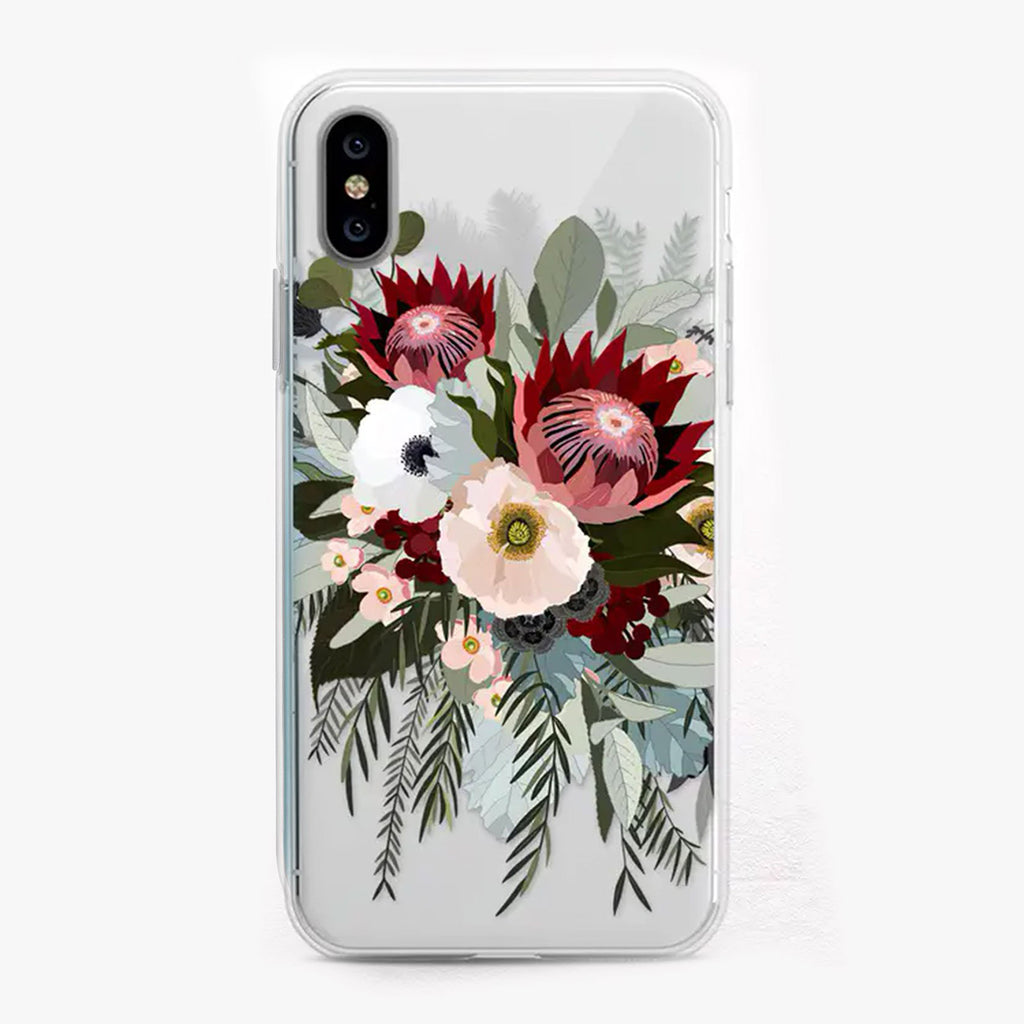Protea Bouquet Designer iPhone Case by Onesweetorange