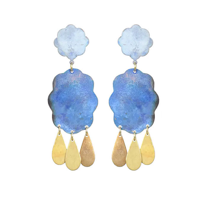 Raincloud Earrings By We Dream in Colour