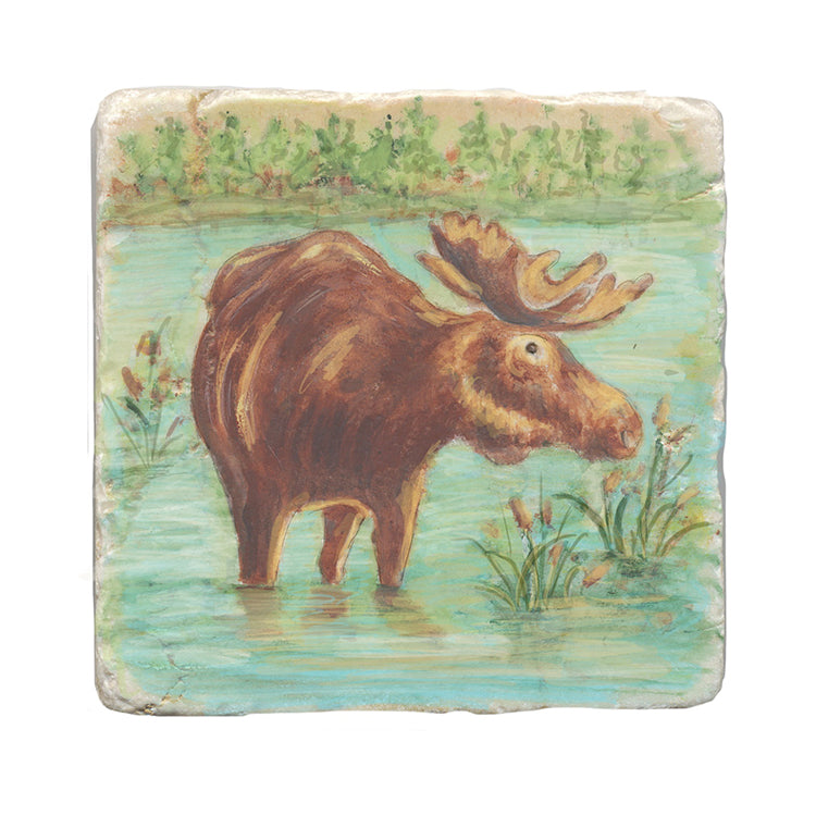 Moose Stone Trivet by Tiny Quail