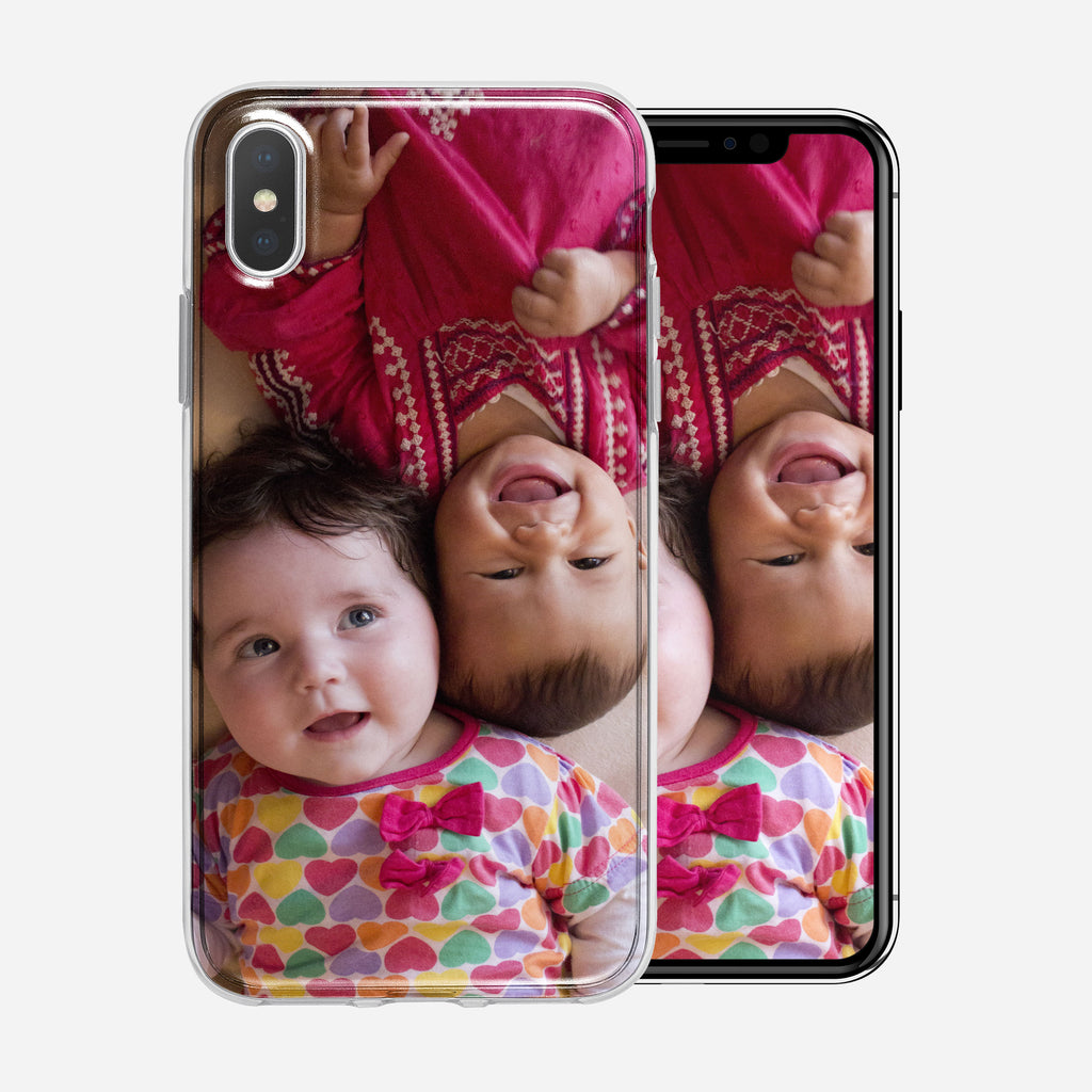 Two Toddlers, iPhone X/XS Custom Phone Case From Tiny Quail