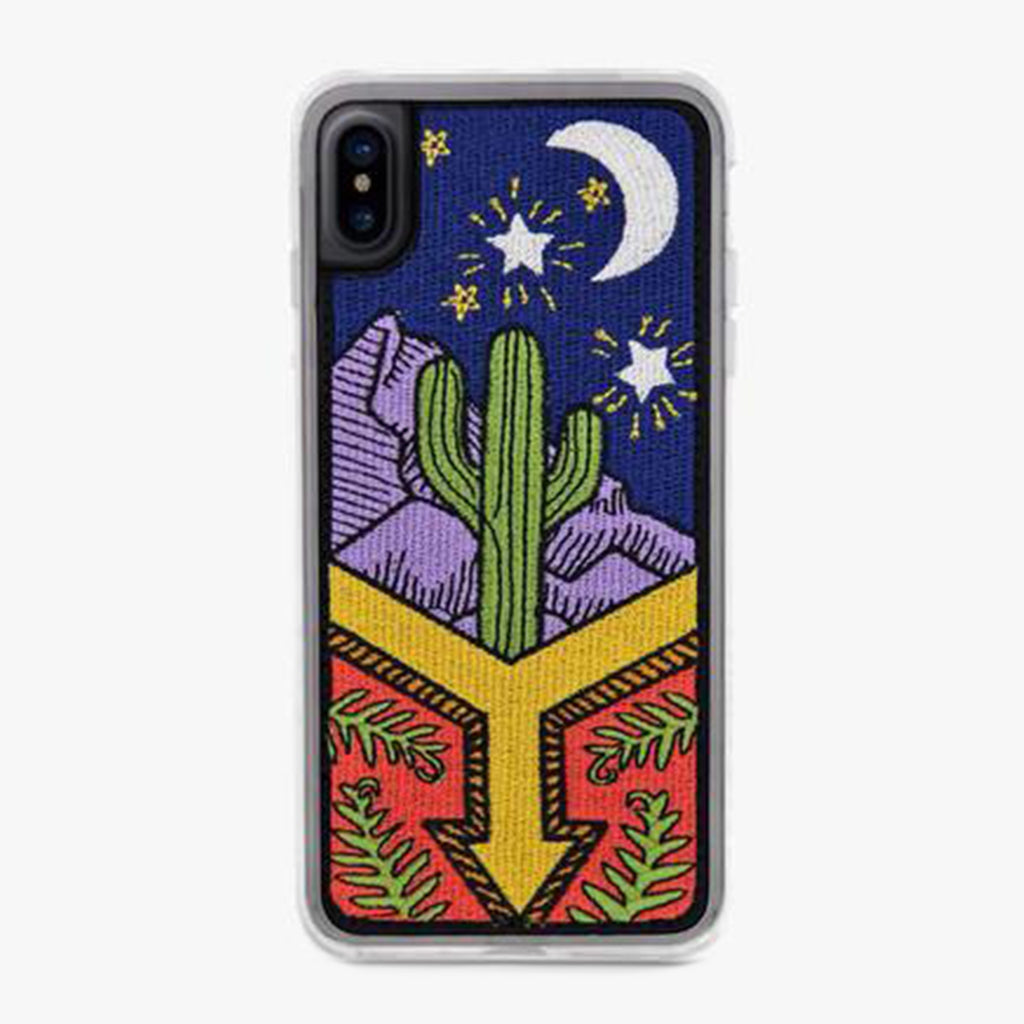 Cactus with blue, green and yellow coloring, Awaken Designer iPhone Case From Zero Gravity