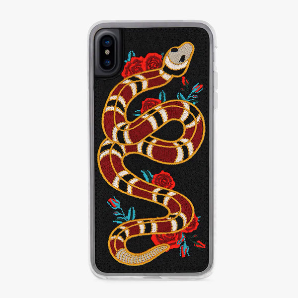 Red, Black, Yellow Snake Strike Designer iPhone Case From Zero Gravity