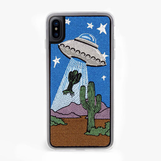 UFO Sucking Cactus Taken Designer iPhone Case From Zero Gravity