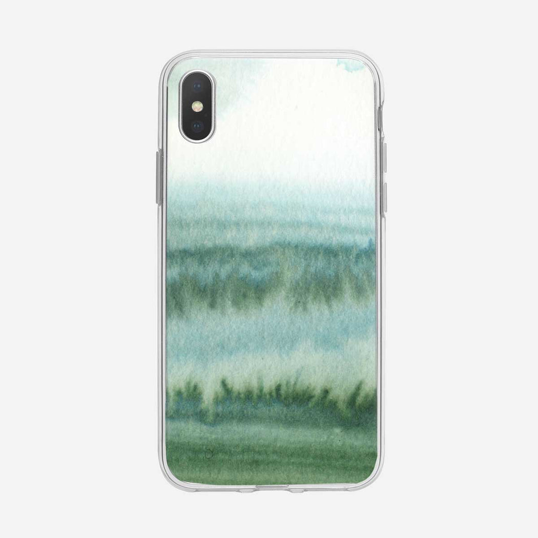 Abstract Forest Watercolor iPhone Case by Tiny Quail