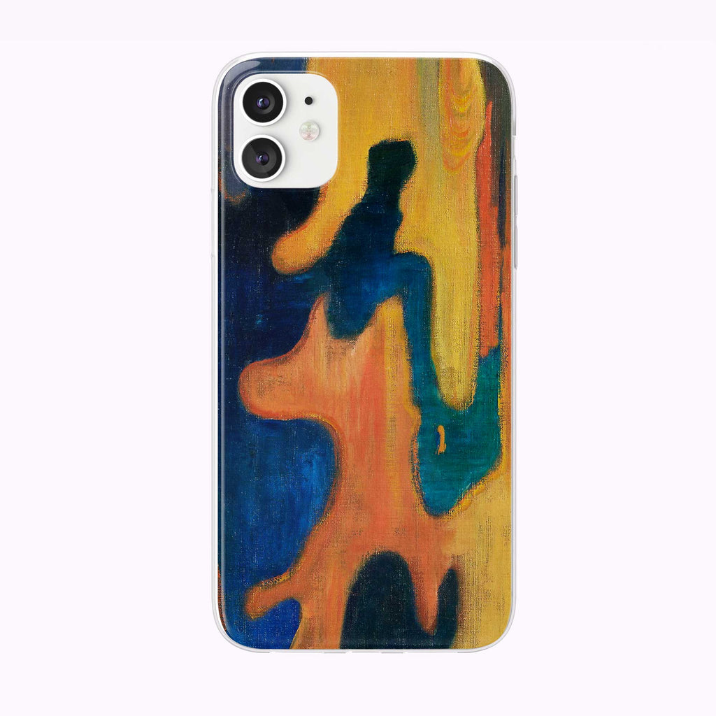 Vintage River Painting iPhone Case from Tiny Quail