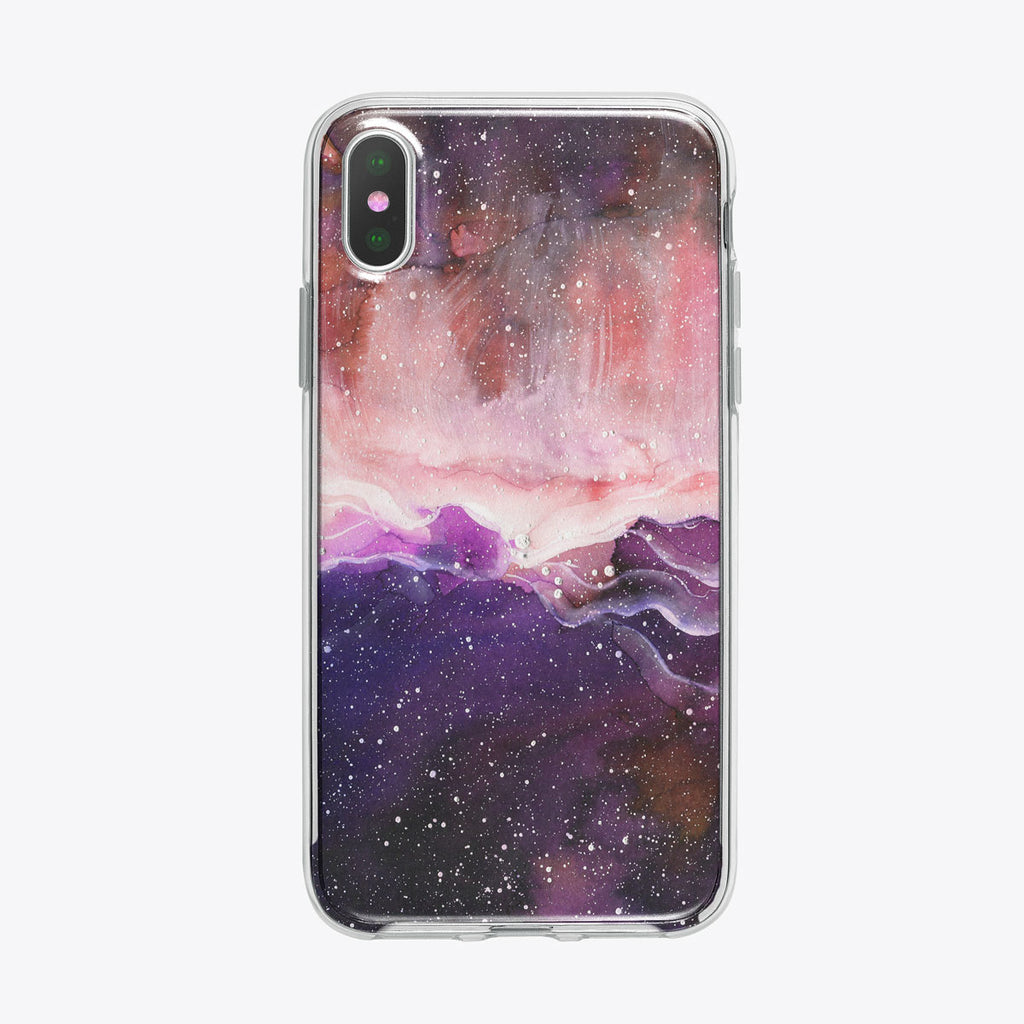 Space and Beyond iPhone Case by Tiny Quail
