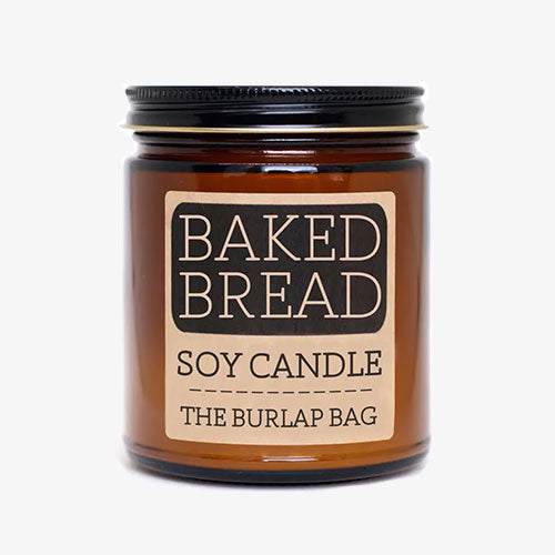 Baked Bread Soy Candle 9oz - From Burlap Bag - Tiny Quail