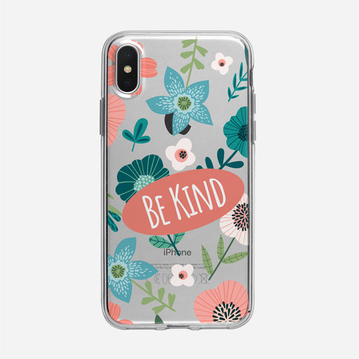 Be Kind Floral iPhone Case From Tiny Quail